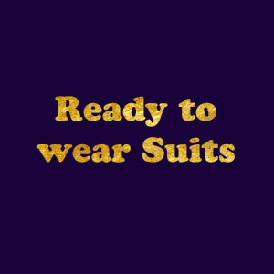 Ready to wear Suits