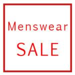 Menswear sale psd