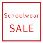 Schoolwear sale
